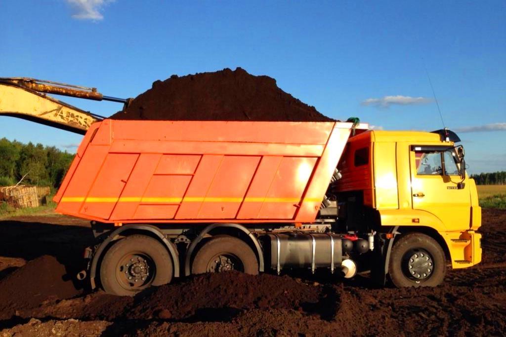 Доставка земли и торфа в Обнинске
