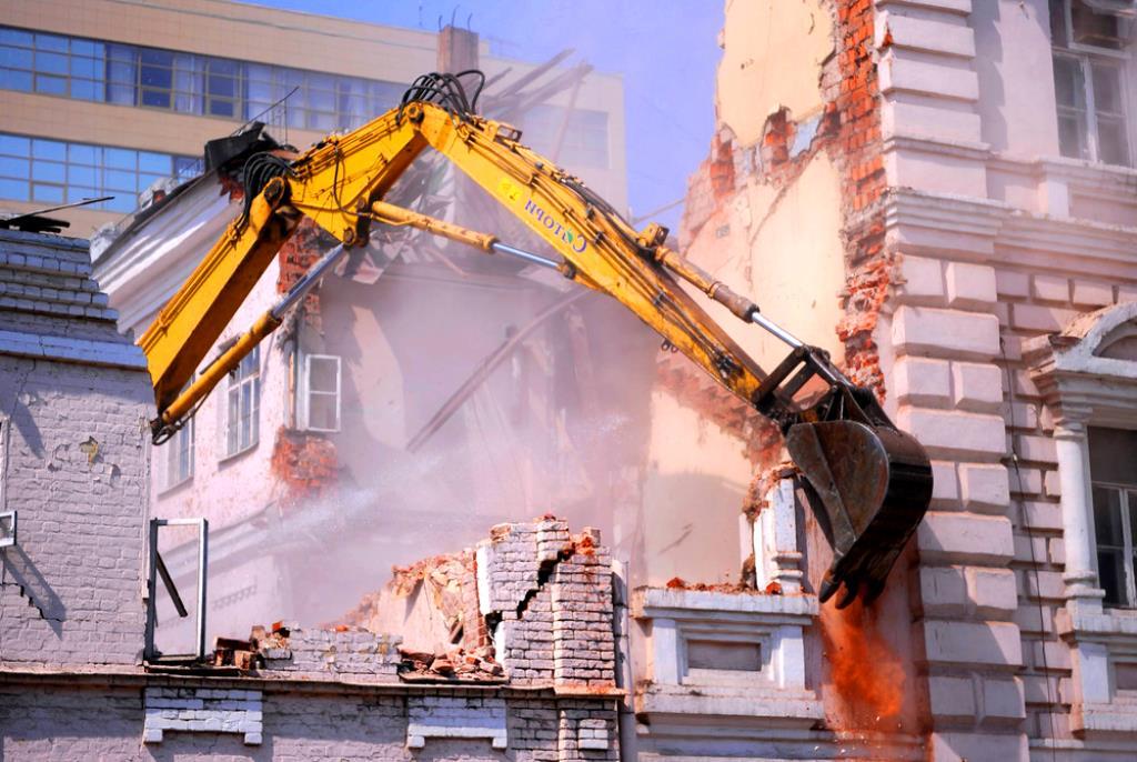 Снос зданий и сооружений в Обнинске Калужской области