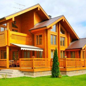 Строительство домов из бруса, пеноблоков, кирпича.