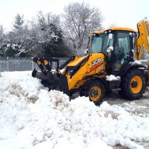 Уборка снега в Обнинске