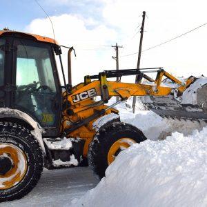 Уборка снега в Боровске