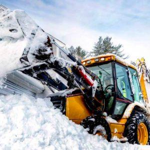 Уборка снега в Балабаново